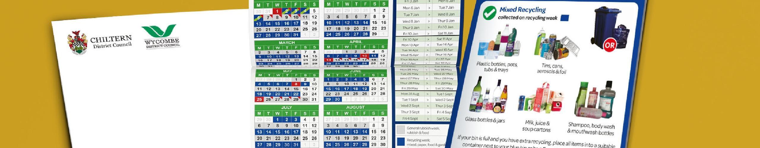 CDC Waste Calendar